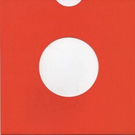 "7"" Card Sleeve 10 Pack - Red"